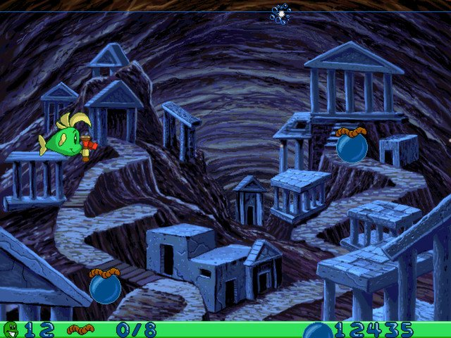 Freddi Fish and Luther's Water Worries截图第2张