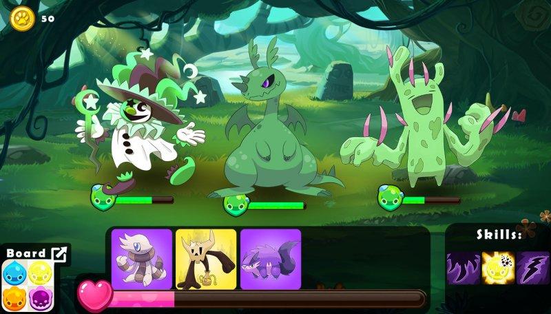 可爱怪物斗技场截图第2张