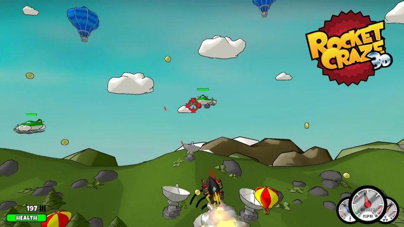 疯狂火箭3D截图第4张