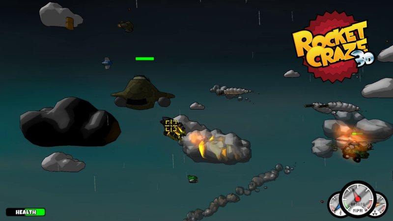 疯狂火箭3D截图第2张
