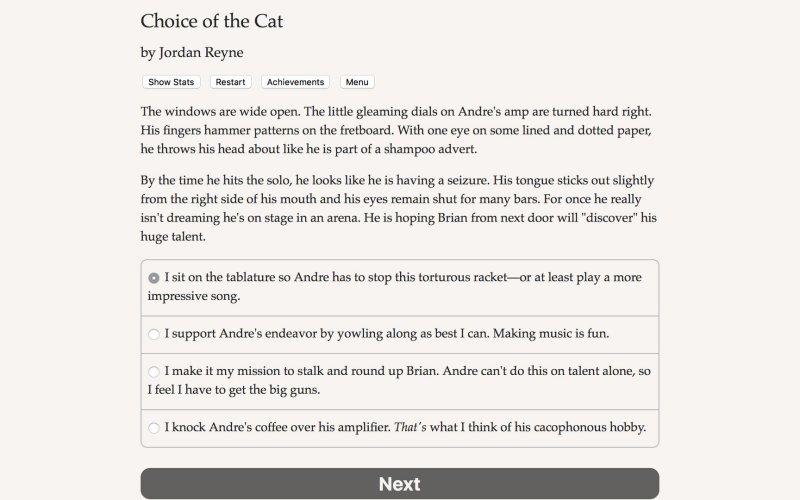 猫的选择截图第1张
