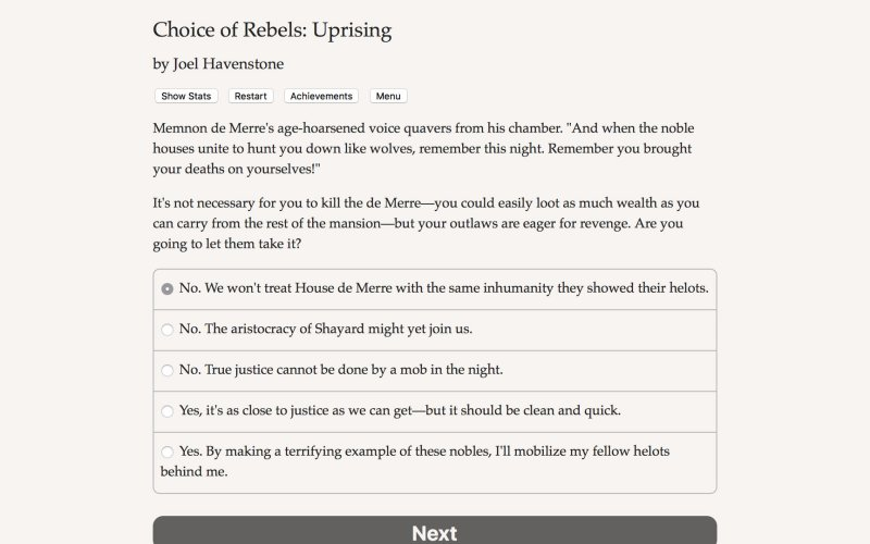 反叛的选择:起义截图第3张