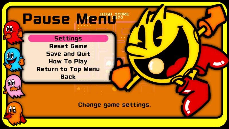吃豆人 街机游戏系列截图第2张
