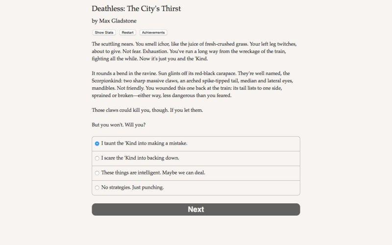 死亡:城市的渴望截图第3张