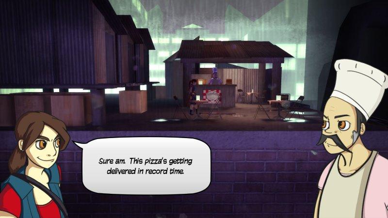 忍者披萨女孩截图第1张
