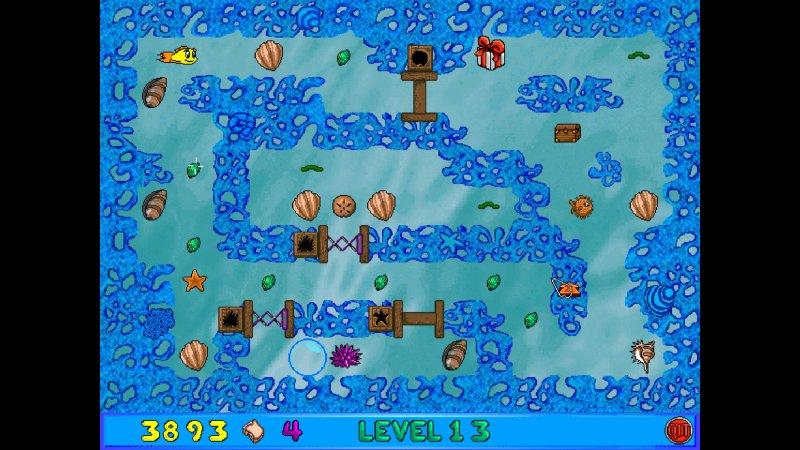 弗莱迪小鱼和卢瑟的迷宫的疯狂截图第4张