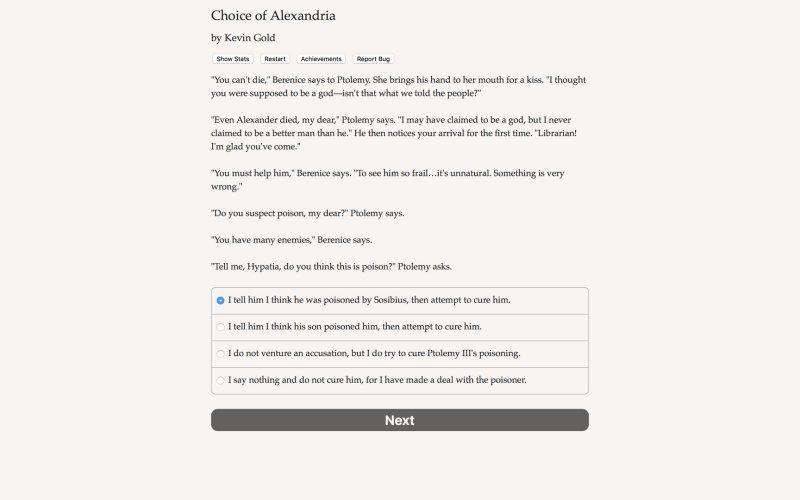 Choice of Alexandria截图第3张