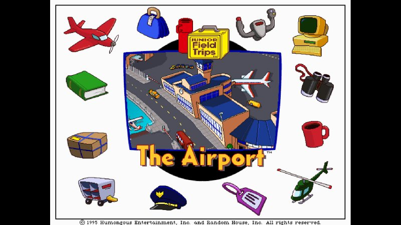 让我们来探索机场(初级野外旅行)截图第1张