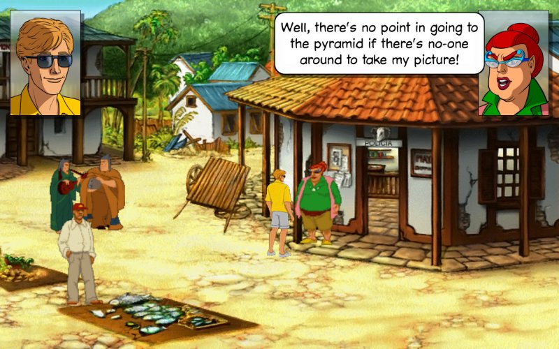 Broken Sword 2 - the Smoking Mirror: Remastered截图第1张