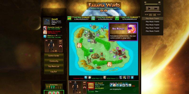 Fasaria World: Browser MO截图第2张