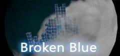 破碎的蓝色