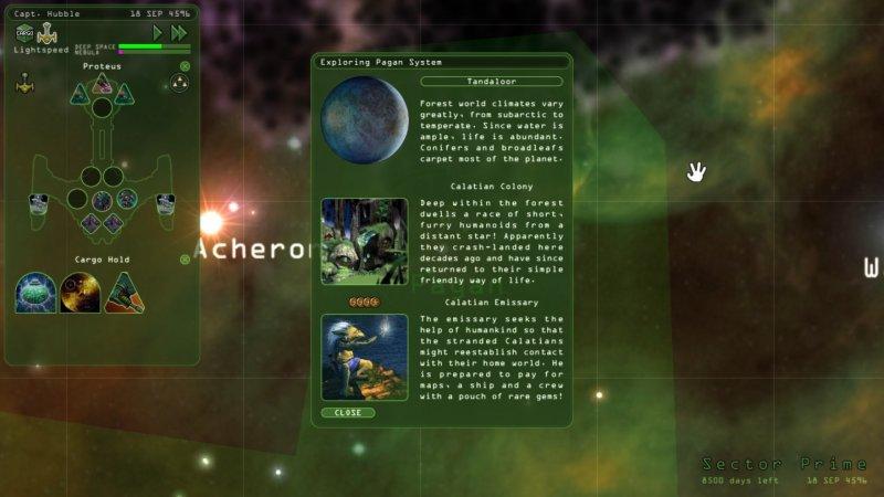 奇异世界:重返无尽的太空截图第3张