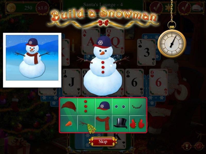圣诞老人的圣诞接龙截图第4张