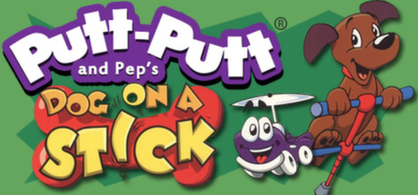 Putt-Putt® and Pep's Dog on a Stick
