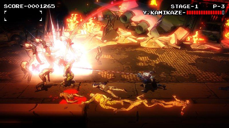 剑勇传奇:忍者龙剑传Z截图第5张