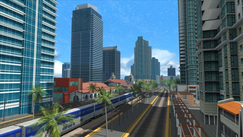 列车模拟器:太平洋surfliner®香格里拉-圣地亚哥航线截图第1张