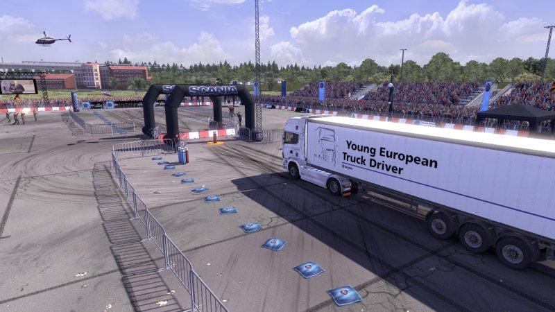 斯堪尼亚卡车驾驶模拟器截图第3张