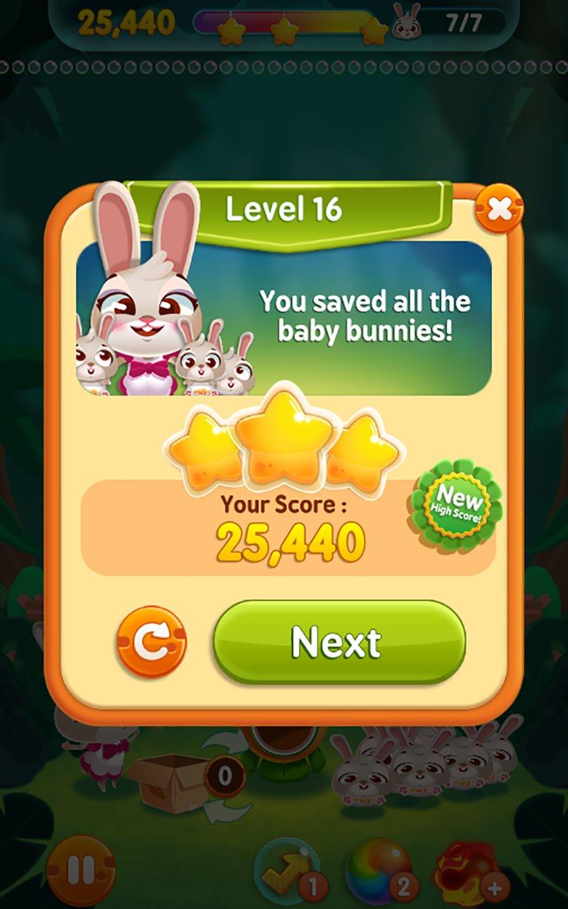 兔子泡泡龙截图第4张