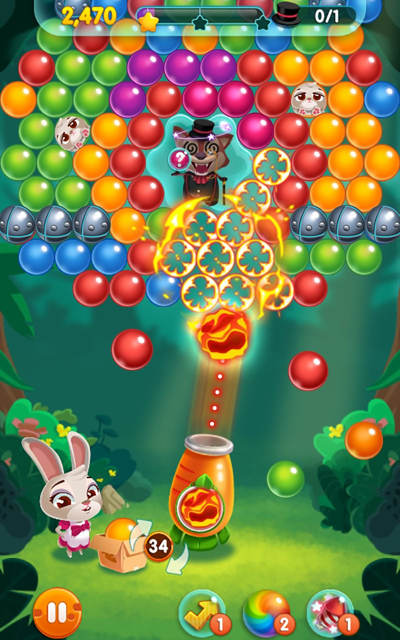 兔子泡泡龙截图第3张