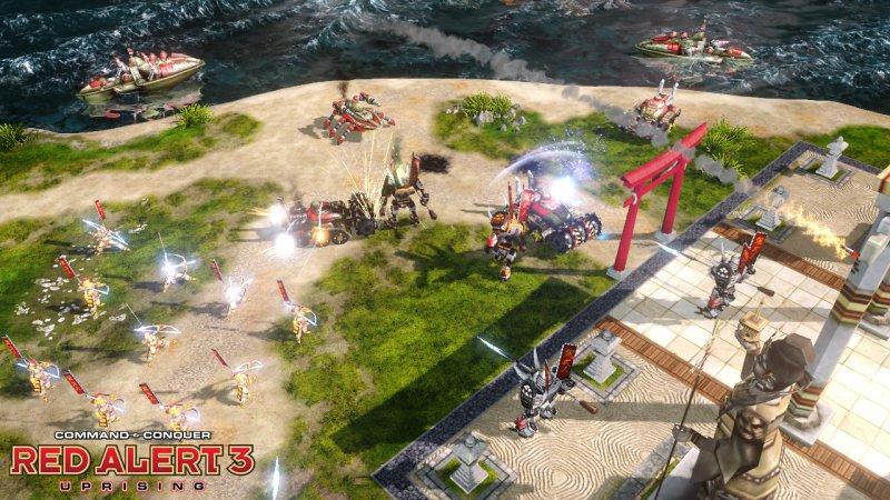 命令与征服之红色警戒III起义时刻截图第3张