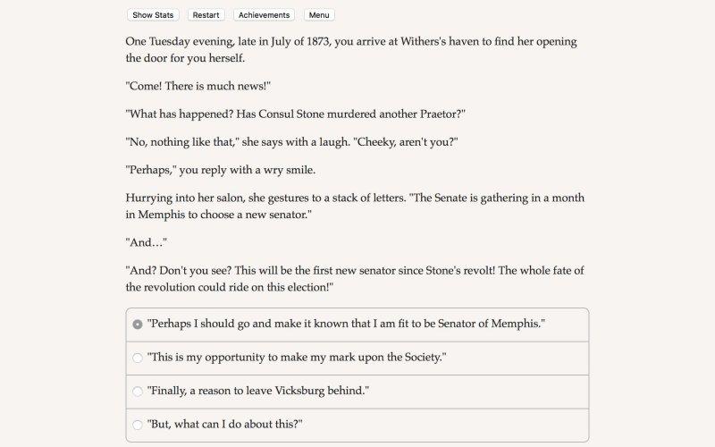 吸血鬼的选择:孟菲斯的堕落截图第1张