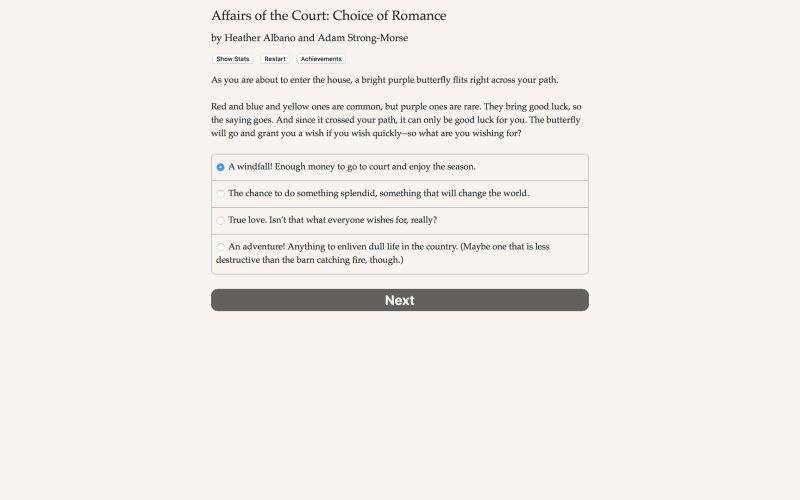 法庭事务:浪漫的选择截图第2张