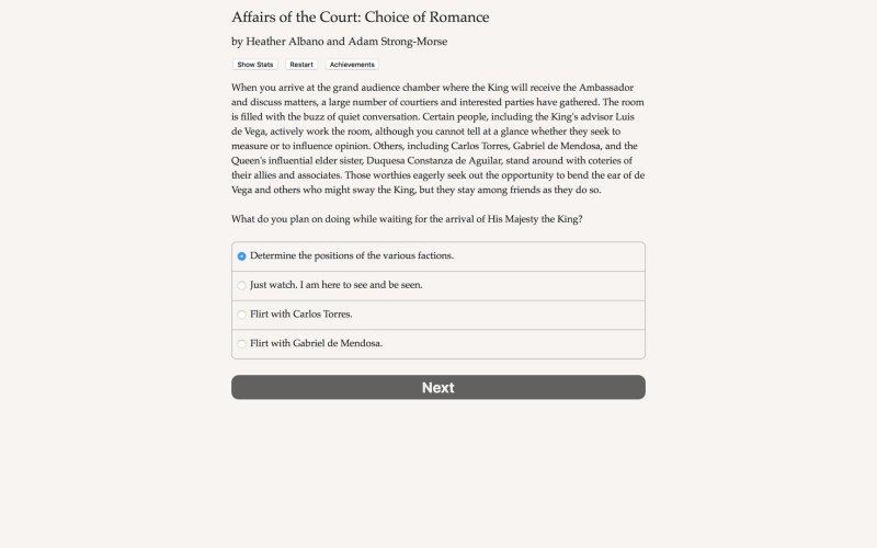 法庭事务:浪漫的选择截图第4张