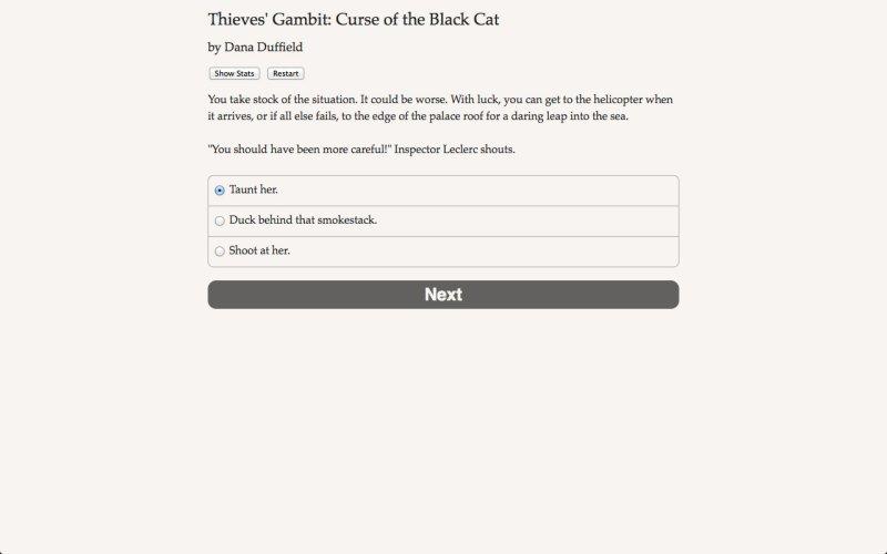 盗贼开场白:黑猫的诅咒截图第3张