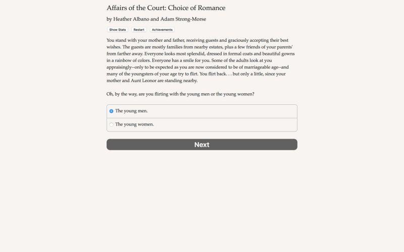法庭事务:浪漫的选择截图第3张