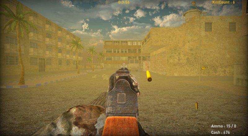 沙漠枪战截图第2张