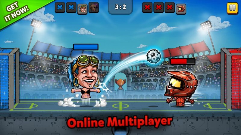 ⚽ Puppet Football Fighters - Steampunk Soccer 第1张