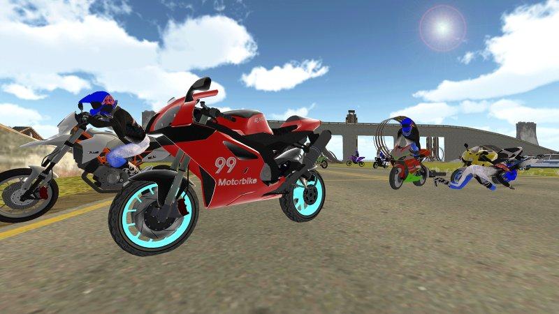 自行车骑士vs Cop Car City Police追逐游戏截图第4张