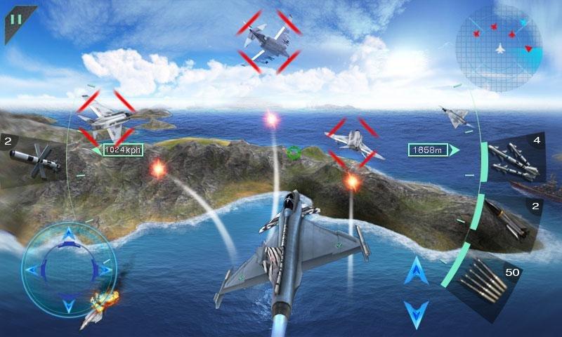 空中決戰3D - Sky Fighters截图第3张