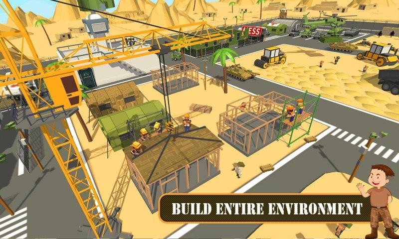陆军基地建设:工艺建筑模拟器截图第4张
