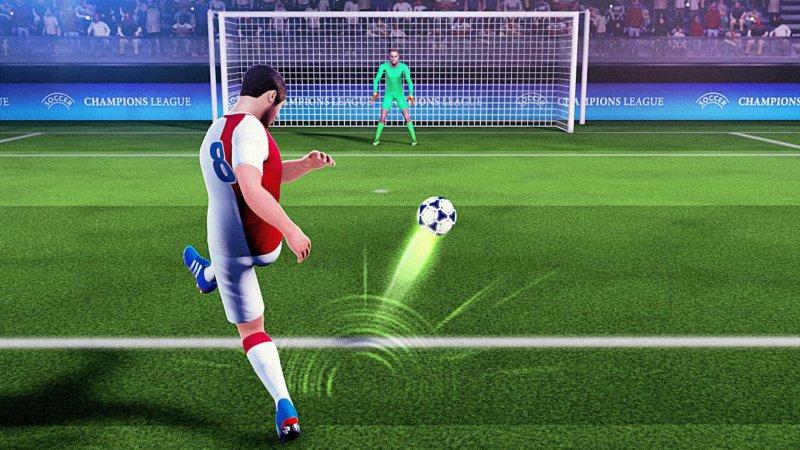 Free Kick Football Champions League 2018截图第2张