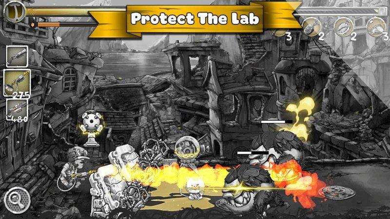 Metal Defender: Battle Of Fire截图第2张