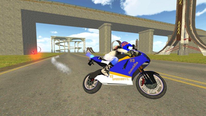 自行车骑士vs Cop Car City Police追逐游戏截图第1张