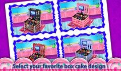 公主化妆盒蛋糕制造商!烹饪游戏截图