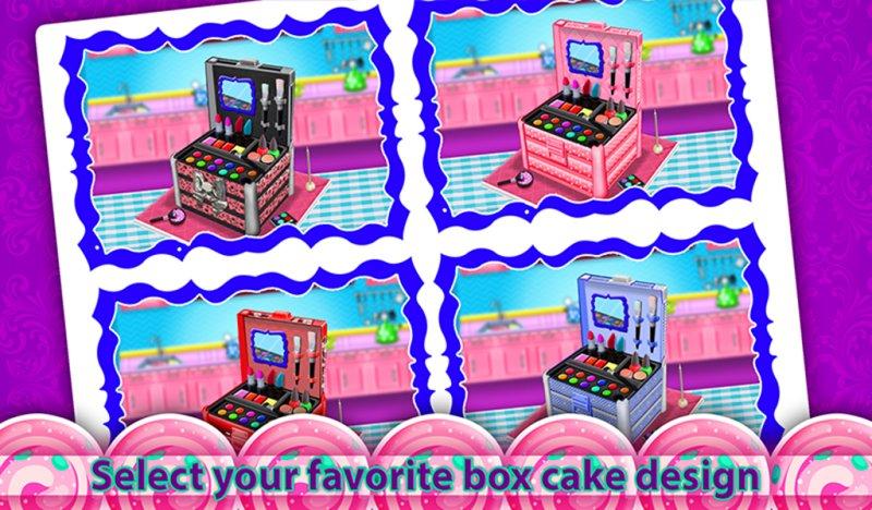公主化妆盒蛋糕制造商!烹饪游戏截图第10张