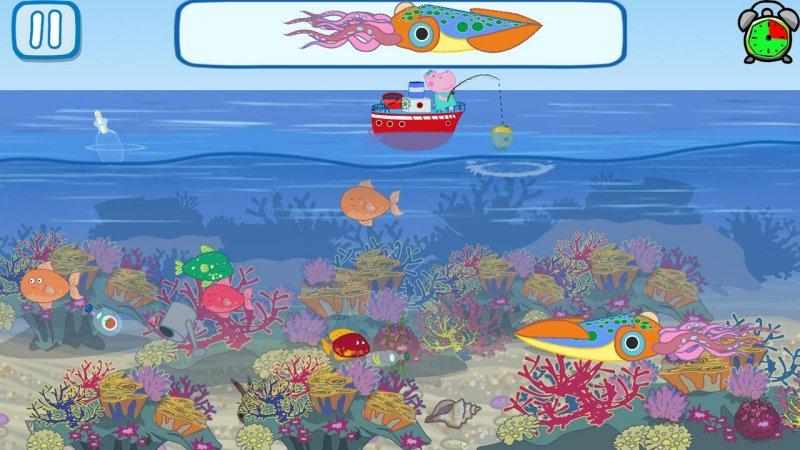 有趣的孩子钓鱼游戏截图第4张