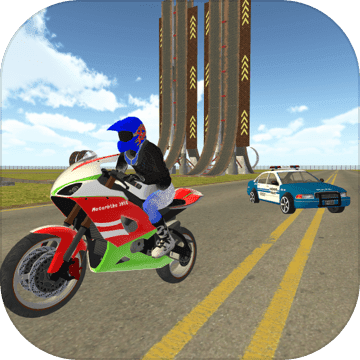 自行车骑士vs Cop Car City Police追逐游戏