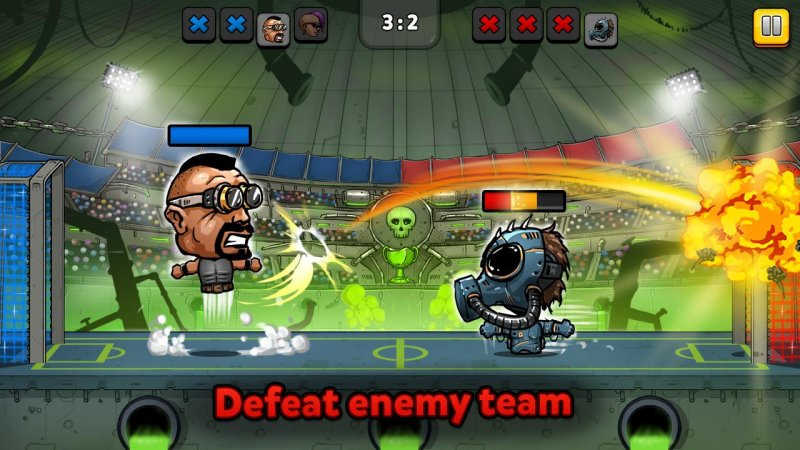 ⚽ Puppet Football Fighters - Steampunk Soccer 第3张