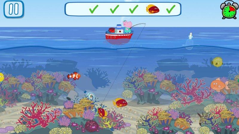 有趣的孩子钓鱼游戏截图第3张