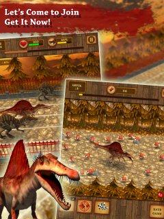 Dino宠物赛车游戏:Spinosaurus Run !!截图