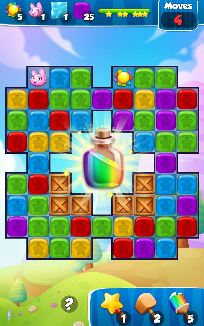Toy Crush Pop Cubes Smash截图第1张