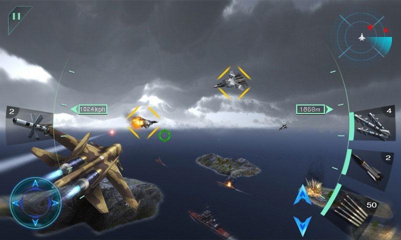 空中決戰3D - Sky Fighters截图第4张