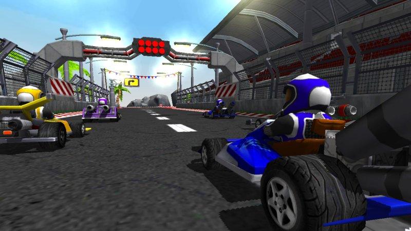 Go Kart Drive 3D截图第3张