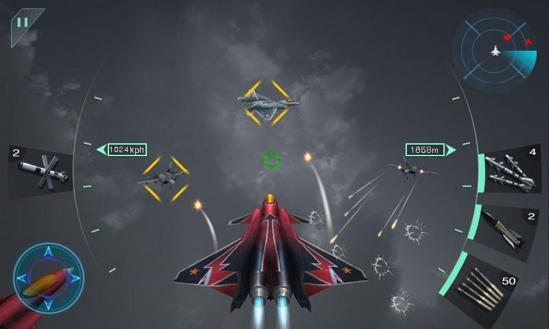 空中決戰3D - Sky Fighters截图第2张