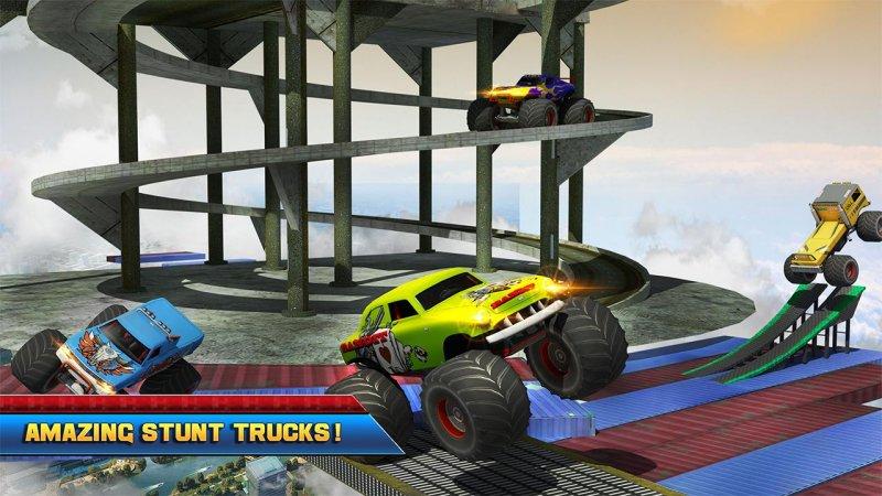 4×4 怪物 卡车: 不可能 特技 驾驶截图第1张