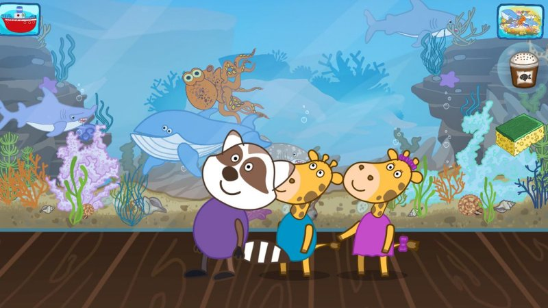 有趣的孩子钓鱼游戏截图第6张